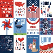 Made In The USA Paper - Land Of The Free - Photoplay