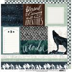 Trailblazer Paper - Wolf Pack - Heidi Swapp