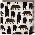 Mama Bear Paper - Wolf Pack - Heidi Swapp