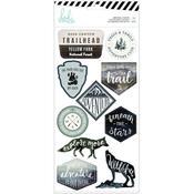 Heidi Swapp Wolf Pack Embossed Stickers