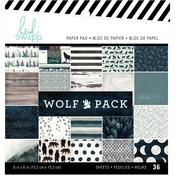 Wolf Pack 6 x 6 Paper Pad - Heidi Swapp