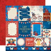 Patriotic Paper - Celebrating Freedom - Bo Bunny - PRE ORDER