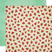 Watermelon Paper - Celebrating Freedom - Bo Bunny - PRE ORDER