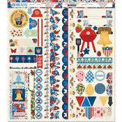 Celebrating Freedom Cardstock Stickers
