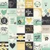 2x2 Elements Paper - Heart - Simple Stories