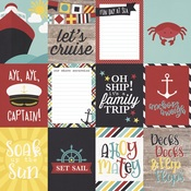3x4 Elements Paper - Cruisin' - Simple Stories - PRE ORDER