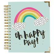 2019-2020 Oh Happy Day 17 Month Weekly Spiral Planner - Simple Stories