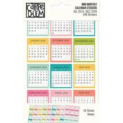 Mini Monthly Calendar Stickers - Simple Stories - PRE ORDER
