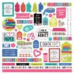 You Had Me At Paper Element Stickers - Photoplay