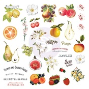 Fruit Paradise Ephemera With Stickers - Prima