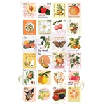 Fruit Paradise Postage Stamps Stickers - Prima