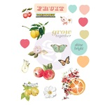 Fruit Paradise Puffy Stickers - Prima
