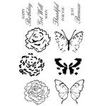 With Love Clear Stamps - KaiserCraft