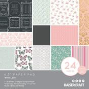 With Love 6.5 x 6.5 Paper Pad - KaiserCraft