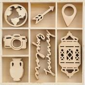 Journey Wood Flourishes - KaiserCraft