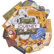 Journey Collectables Cardstock Die-Cuts - KaiserCraft