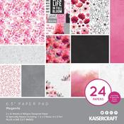 Magenta 6 x 6 Paper Pad - KaiserCraft
