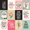 3X4 Journaling Cards Paper - Forward With Faith - Echo Park