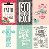 4X6 Journaling Cards Paper - Forward With Faith - Echo Park