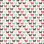 Blessed Butterflies Paper - Forward With Faith - Echo Park