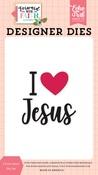 I Love Jesus Die Set - Echo Park