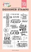 Jesus Loves Me Stamp Set - Echo Park