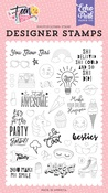 You Glow Girl Stamp Set - Echo Park