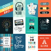 3X4 Journaling Cards Paper - Teen Spirit Boy - Echo Park