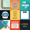 4X4 Journaling Cards Paper - Teen Spirit Boy - Echo Park