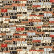 Ahoy Mates Paper - Deep Blue Sea - Carta Bella