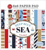 Deep Blue Sea 6x6 Paper Pad - Carta Bella