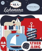 Deep Blue Sea Ephemera - Carta Bella - PRE ORDER
