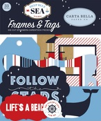 Deep Blue Sea Frames & Tags - Carta Bella - PRE ORDER