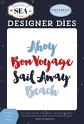Bon Voyage Word Die Set - Carta Bella - PRE ORDER