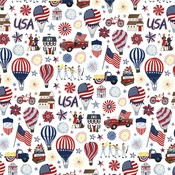 Land Of The Free Paper - America The Beautiful - Carta Bella - PRE ORDER