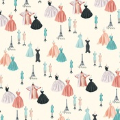 Dress Shop Paper - En Vogue - Carta Bella