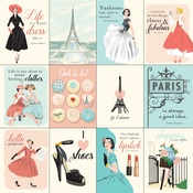 3X4 Journaling Cards Paper - En Vogue - Carta Bella