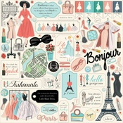 En Vogue Element Sticker - Carta Bella