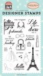 Fashionista Stamp Set - Carta Bella