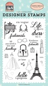 Fashionista Stamp Set - Carta Bella