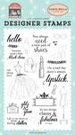 Glitz & Glam Stamp Set - Carta Bella