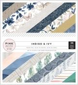 Indigo & Ivy 6 x 6 Paper Pad - Pink Paislee