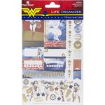 Wonder Woman™ Paper House Life Organized Planner Stickers