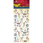 Wonder Woman™ Micro Stickers Paper House