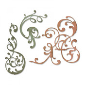 Adorned Sizzix Thinlits Dies By Tim Holtz