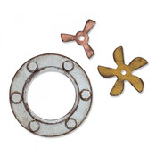 Steampunk Parts Sizzix Bigz Die By Tim Holtz