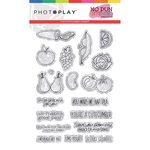 No Pun Intended 4x6 Stamp Fruits & Veggies - Photoplay