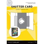 Card - Shutter With Circle Die - Photoplay