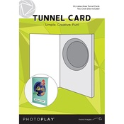 Card - Tunnel Cards With Circle Die - Photoplay