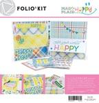 Mad 4 Plaid Happy Folio Kit - Photoplay